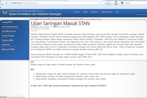 USM STAN 2012