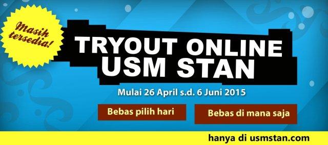 Tryout 26 april