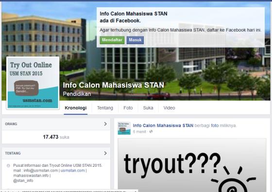 Info Calon Mahasiswa STAN